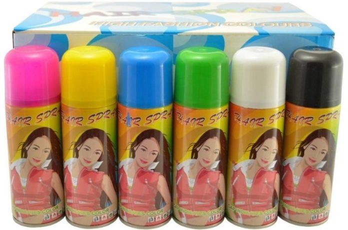Hair Color Sprays