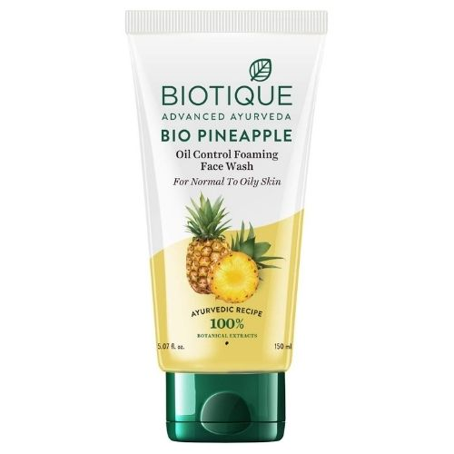 Biotique Bio Pineapple Oil Control Foaming Face Wash