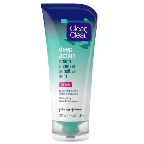 Clean & Clear Deep Action Oil Cream Cleanser for Oily Skin