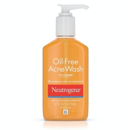 Neutrogena Oil-Free Acne Face Wash
