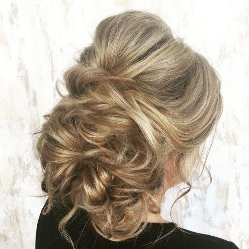 Loose Updo hair