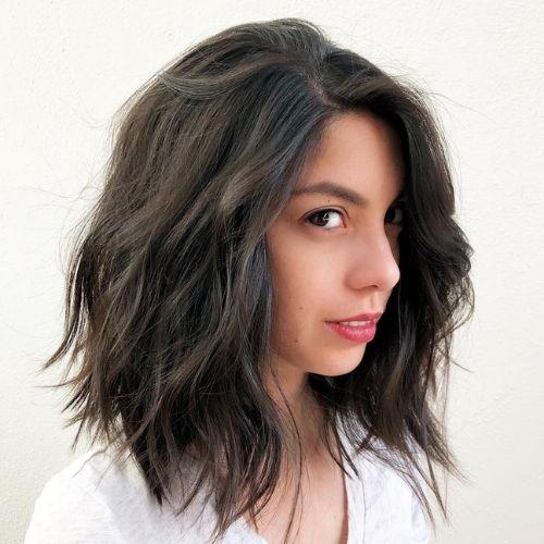 Shoulder-Length Waves hair