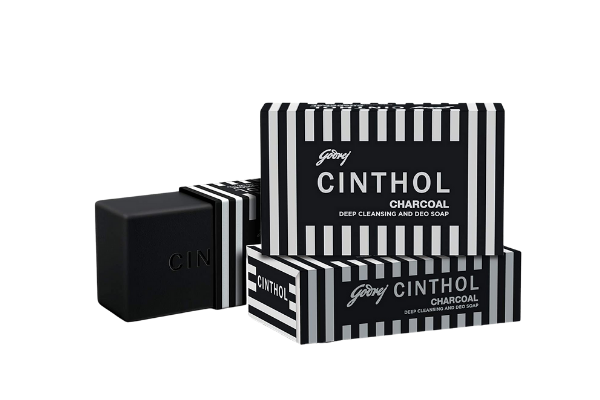 Cinthol Charcoal Deep Cleansing & Deo Soap