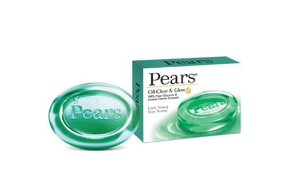 Pears Oil Clear & Glow Soap