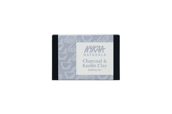 Nykaa Naturals Charcoal & Kaolin Clay Bathing Soap