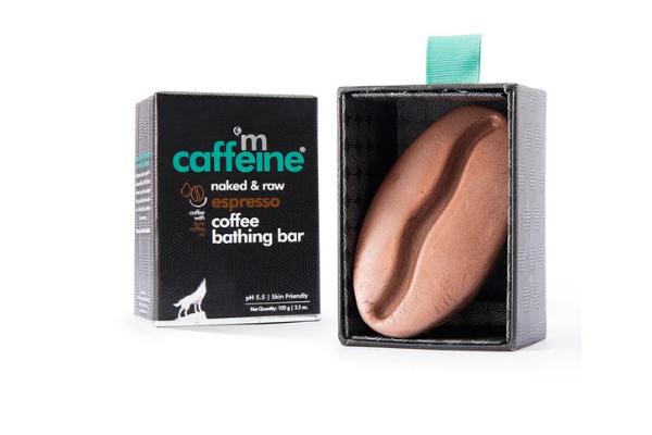 MCaffeine Naked & Raw Espresso Coffee Bathing Bar Soap