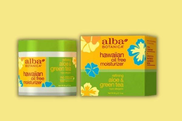 Alba Aloe and Green Tea Oil-Free Moisturizer