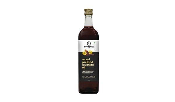 Anveshan Wood Pressed Black Mustard Oil