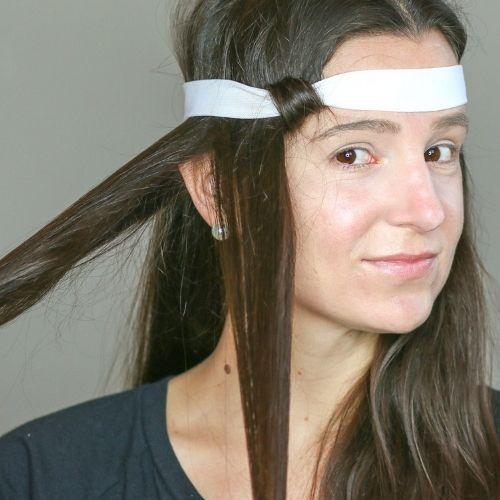 Headband Curling Technique