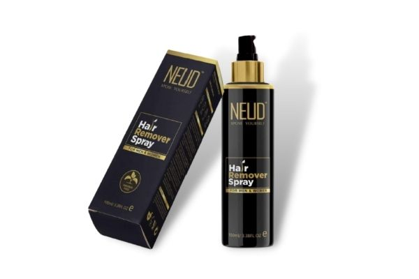 Use NEUD Hair Remover Spray For removing hair painlessly