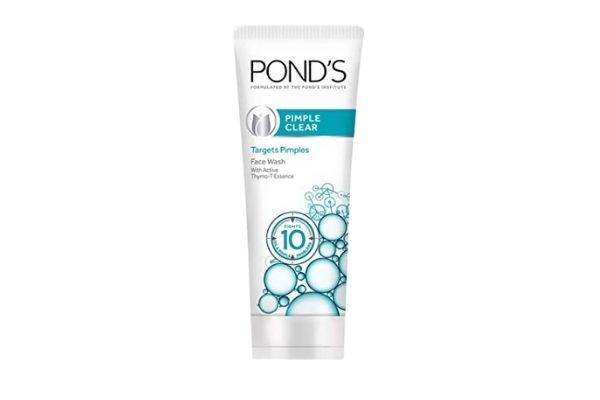 Ponds Pimple Clear Anti-Acne Face Wash