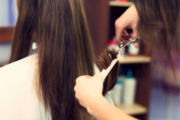 Trim Your Hair Regularly for avoiding split ends