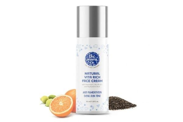 The Moms Co. Natural Vita Rich Face Cream for super dry skin