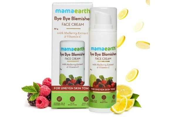 Mamaearth Bye Bye Blemishes Face Cream With Mulberry Extract & Vitamin C for Dry skin