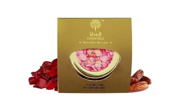 Khadi Essentials Luxurious Ayurvedic Rose Petal Lip Scrub