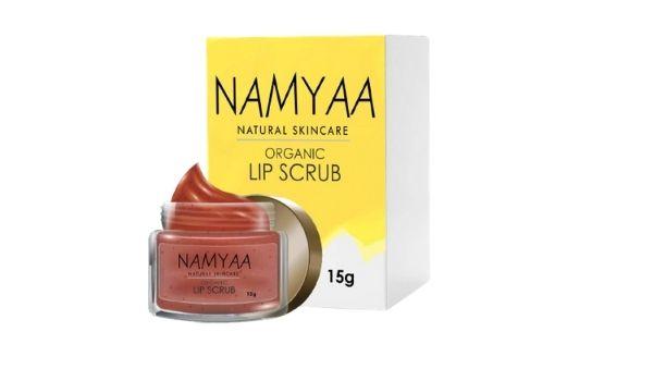 Namayaa Organic Lip Scrub, Exfoliates and Softens Lips