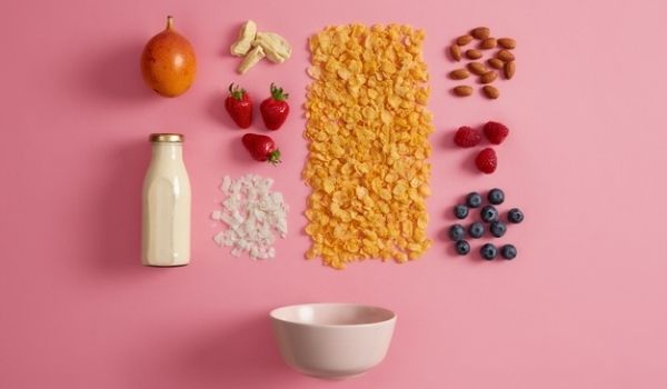 consume foods high in fiber and protein