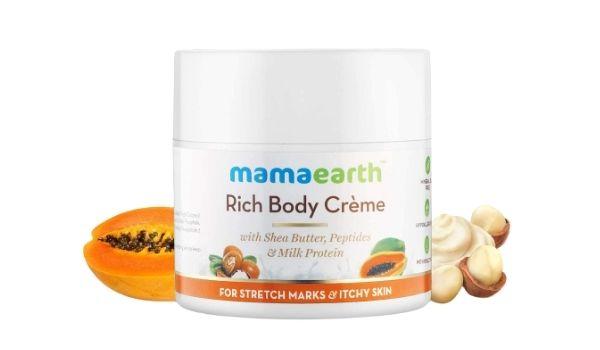 Mama Earth Body Cream For Stretch marks