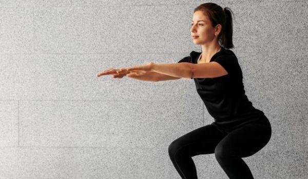 Squats for loosing hip fat