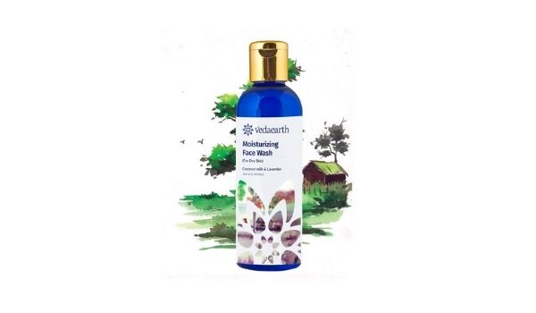 Vedaearth Moisturizing Face Wash with Coconut Milk & Lavender
