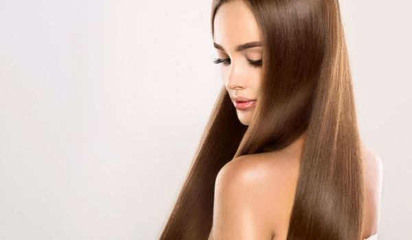 makes hair healthy & strong