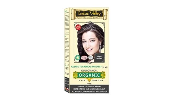 Indus Valley 100% Organic Hair Color