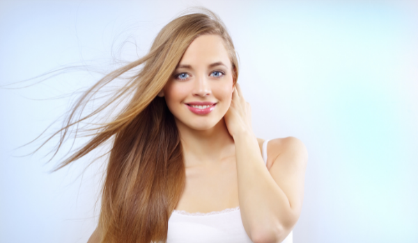 Layers in Straight Hair