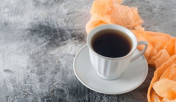 black tea and coffee for white hair