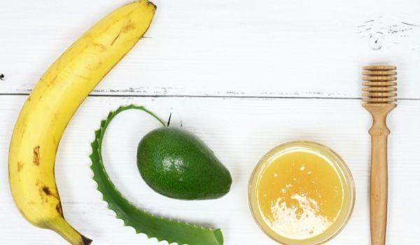 Avocado & Banana Face Pack For Dry Skin